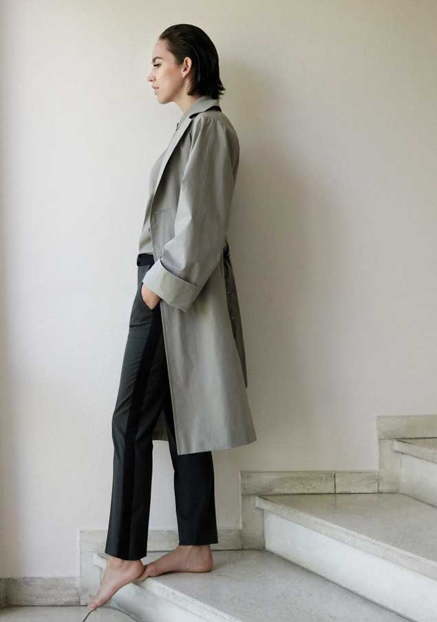 Cathrin Coat | Carla Blouse | Cindy Pants